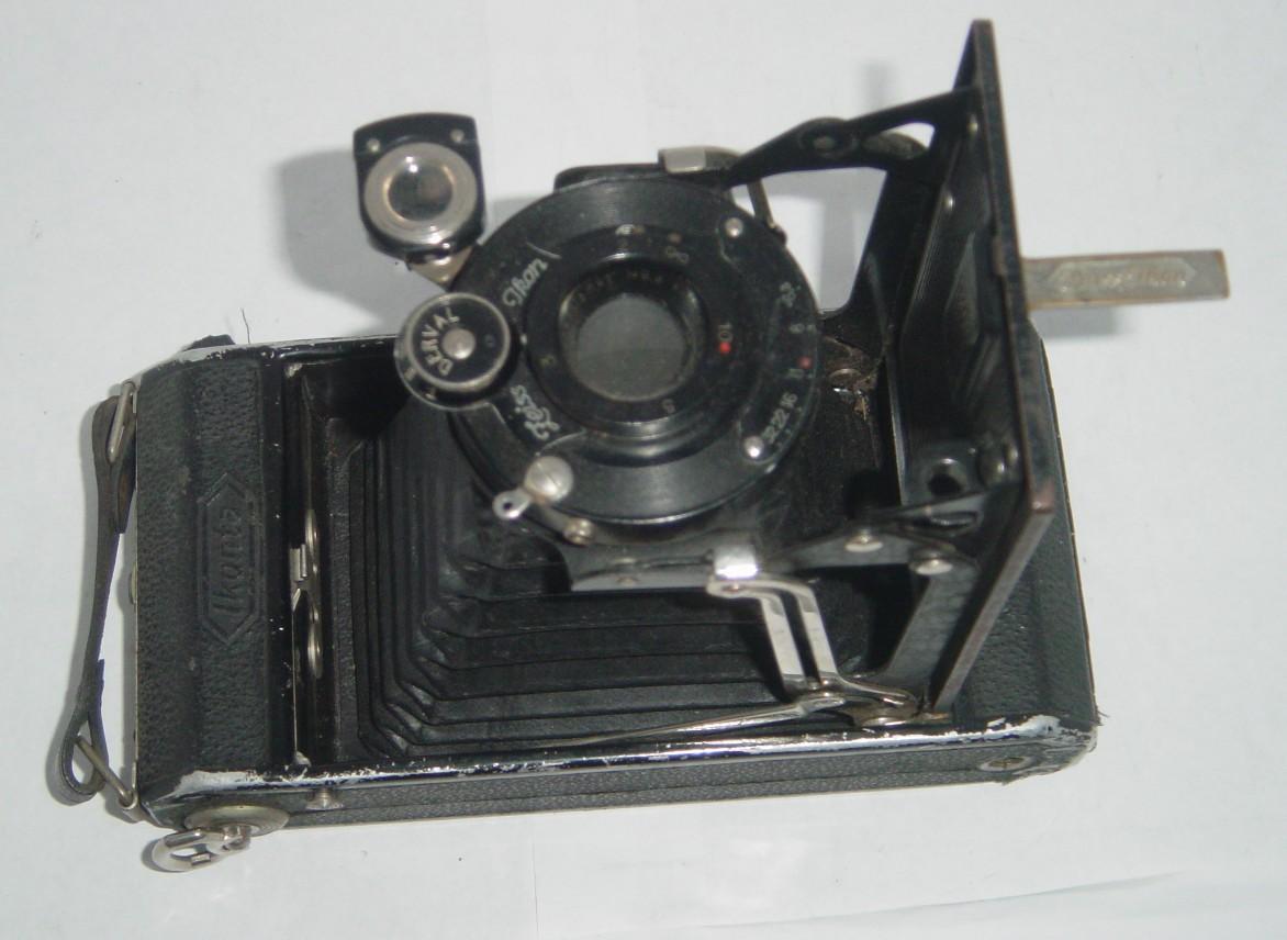 Zeiss Ikon Ikonta 520/2 Novar Anastigmat 10 5cm Lens Derval